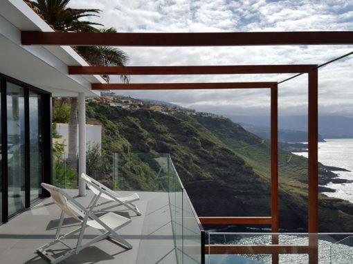 villa sobre acantilado Los Ángeles
