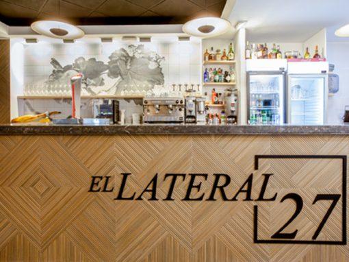 reforma y diseño restaurante el Lateral 27