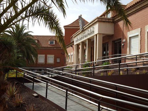 reforma en los accesos para la Universidad de Las Palmas