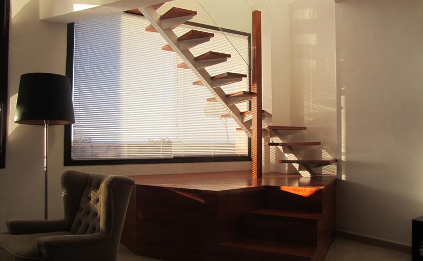 proyecto de escalera en Bajamar